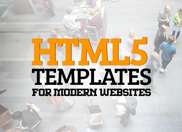 Responsive HTML5 Templates