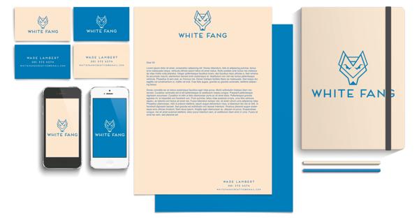 White Fang Visual Identity