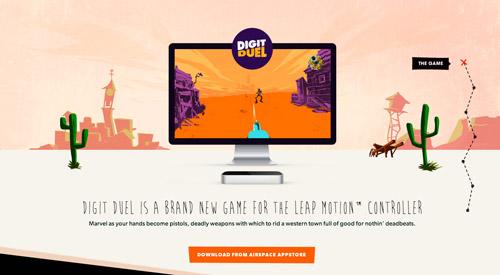 Digit Duel Promo Site