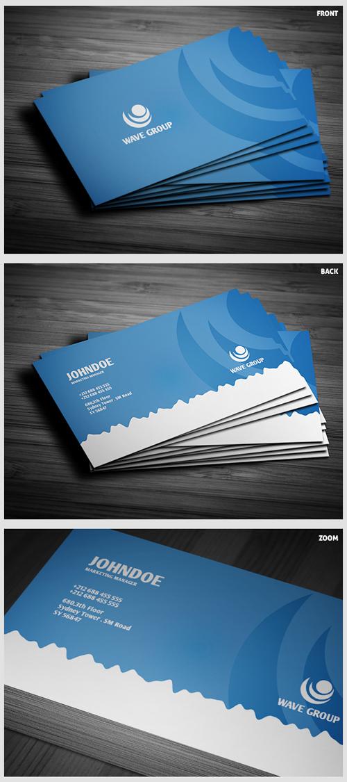 business cards template design - 13