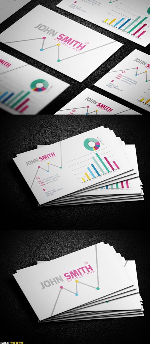 business cards template design - 14