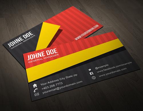 business cards template design - 17