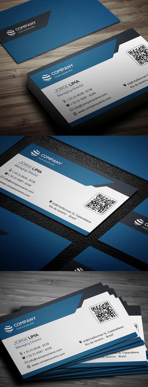 business cards template design - 3