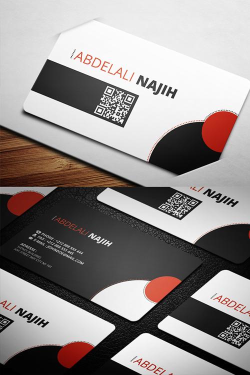 business cards template design - 8