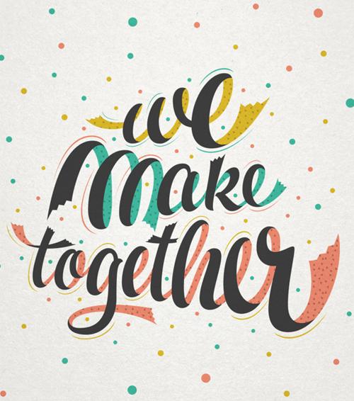 We make together