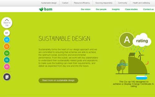 bam Construct uk Sustainability