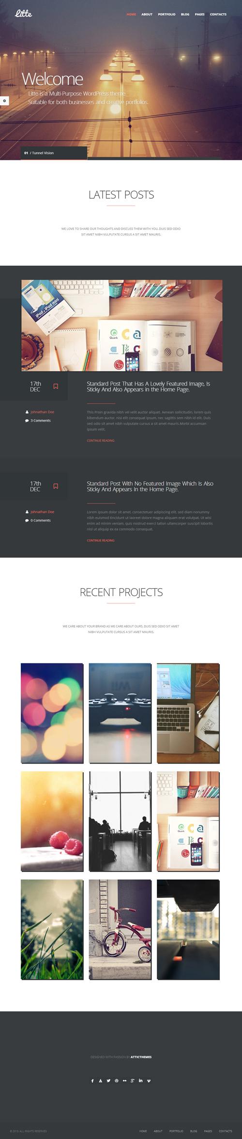 Litte - Multipurpose WordPress Theme