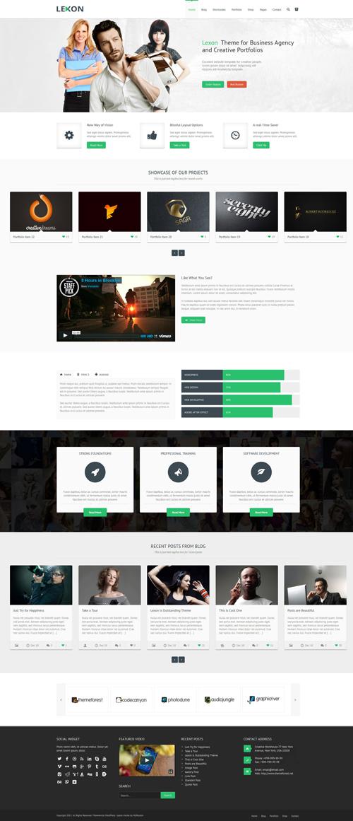 Lexon – Responsive WordPress Theme