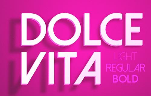 Dolce Vita free font