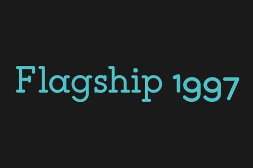 Flagship free font