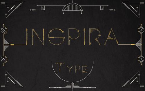Inspira#fontsfordesigners
