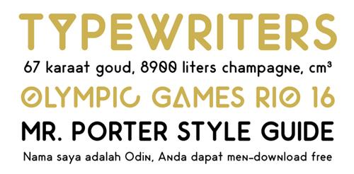 Odin Rounded #fontsfordesigners