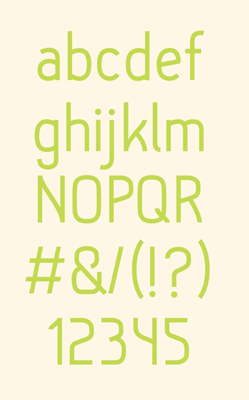 Hallo Sans #fontsfordesigners