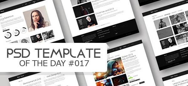 Black - Creative Clean Website Template