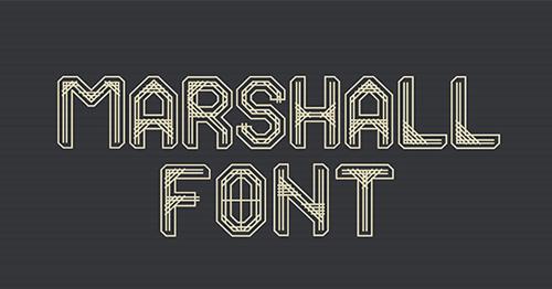 Marshall Font