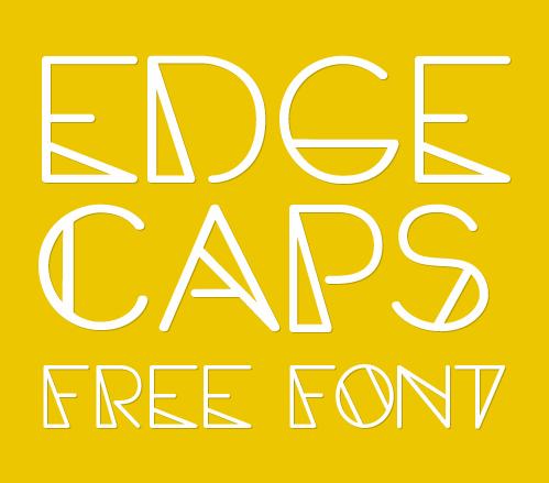 Edge Caps Font