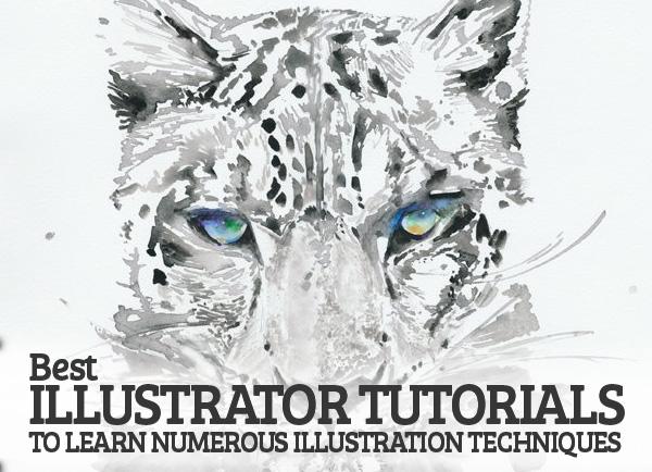 25+ Best Ilustrator Tutorials to learn Numerous Illustration Techniques