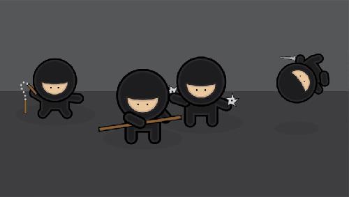 Create a Gang of Vector Ninjas in Adobe Illustrator Tutorial