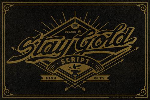 Stay Gold Script