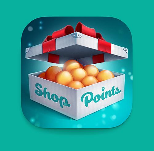 Shop Point iOS Icon