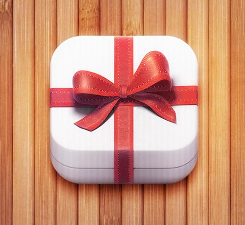 GiftBox iOS Icon