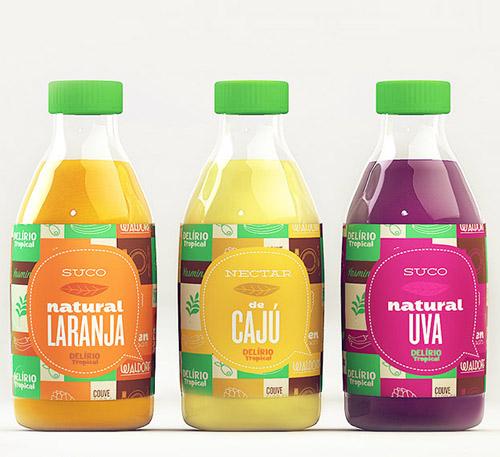 Delírio Tropical Packaging Design