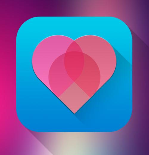 Pinkheart IOS icon