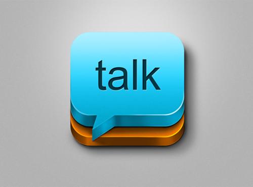 talk - Icon Design