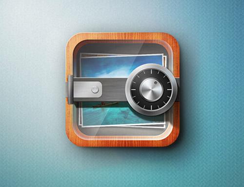 Secure Photo Storage iPhone app