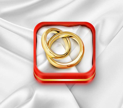 iOS Wedding Planner icon