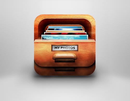 iOS icon for Photo organzer app