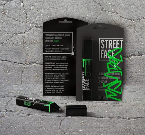 Street Face Packaging Design