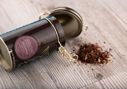 Naja Tea Tin Packaging Design