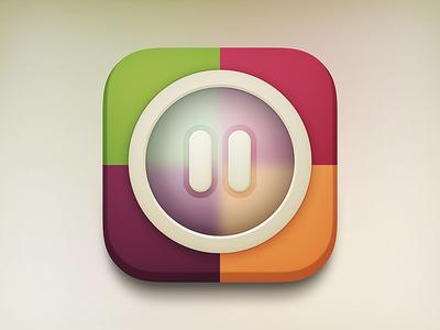 Pause iOS icon