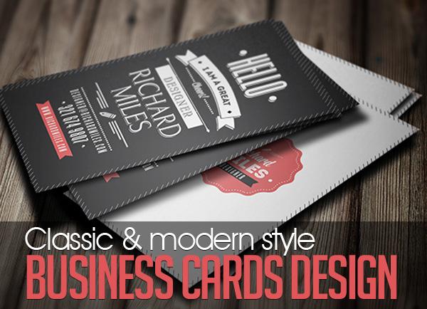 23+ Classic Business Cards Design