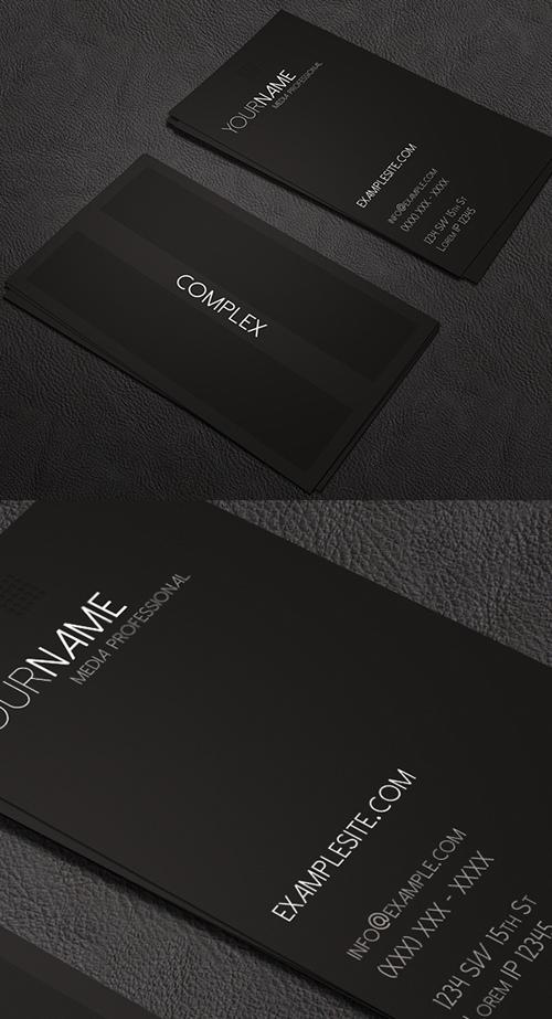 Complex Business Card