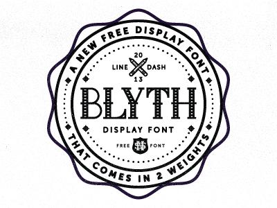Blyth Font for Free