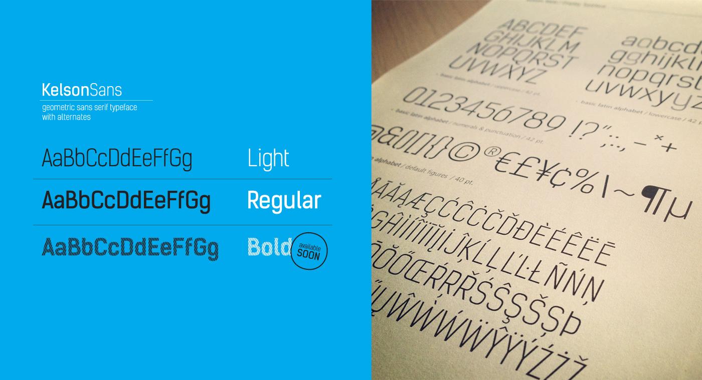 Kelson free font