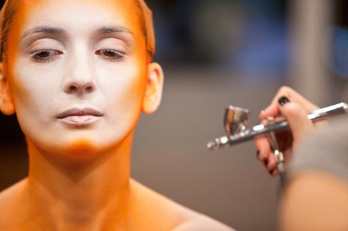 VFS Makeup Design Students Display Halloween Makeup on Urban Rush by vancouverfilmschool