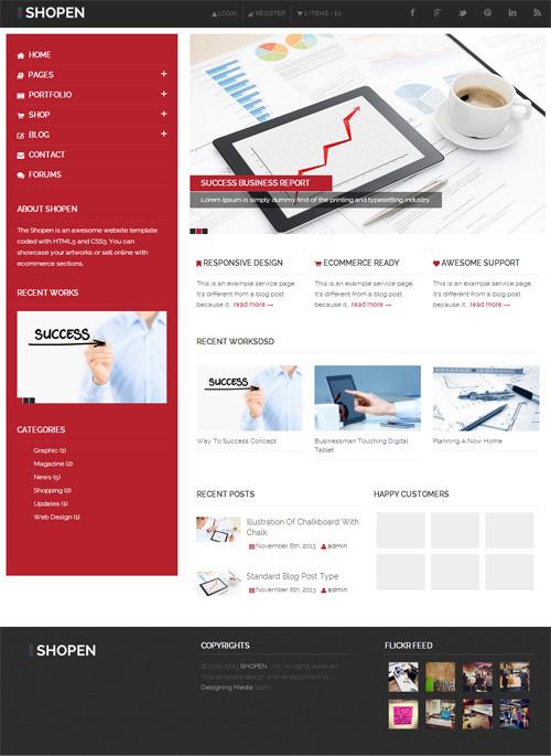 Shopen – Responsive WooCommerce WordPress Theme