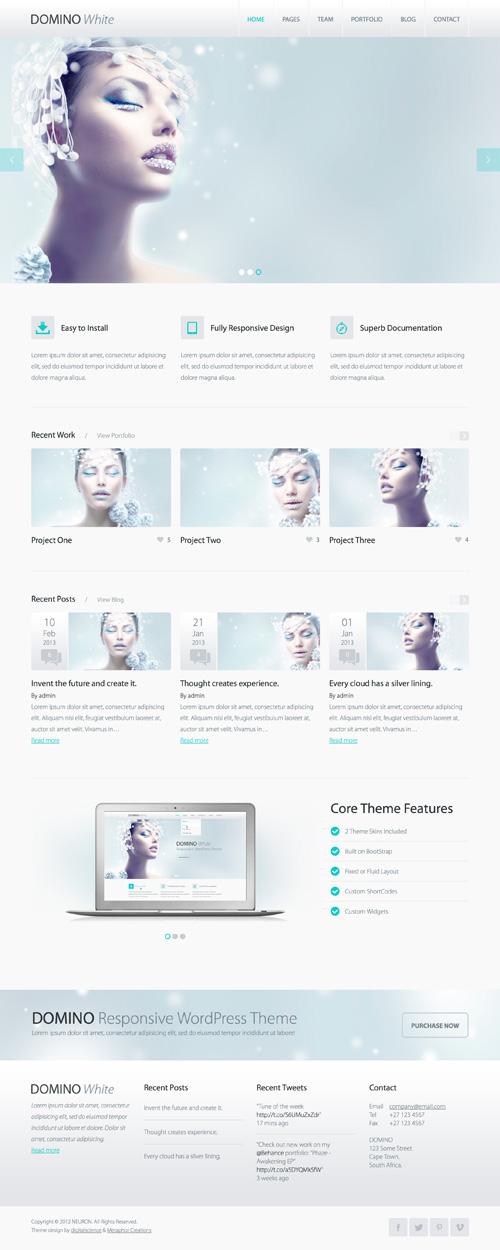 Domino – Responsive WordPress Theme