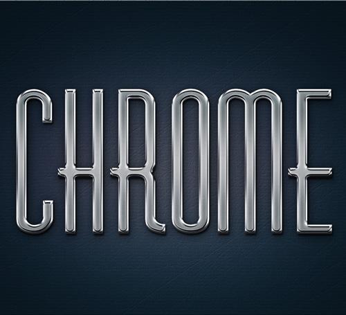 Free Metal Chrome Layer Styles