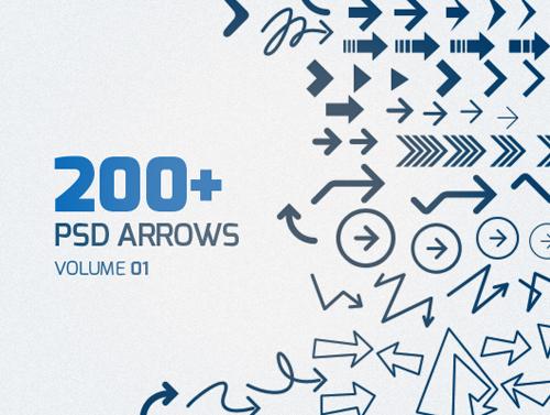 Psd Arrows