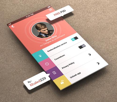Profile Settings for iPhone 5 Retina Ready