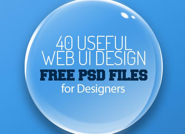 Web UI Design Free PSD Files for Designers