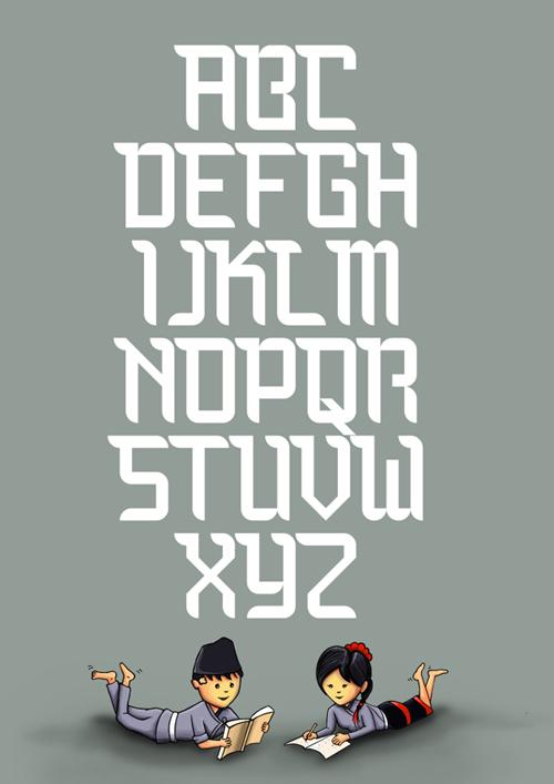 Bauchaomaicha font FREE