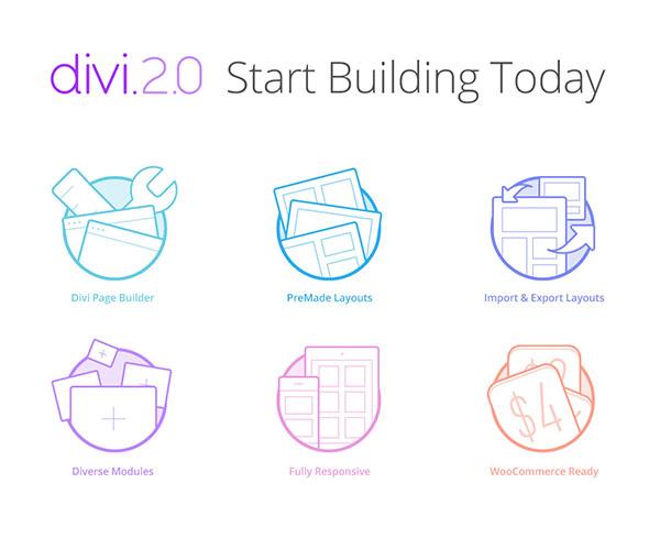 Divi start building tools