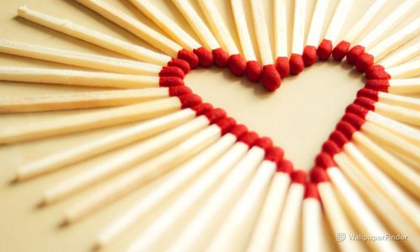 A Heart Of Matchsticks