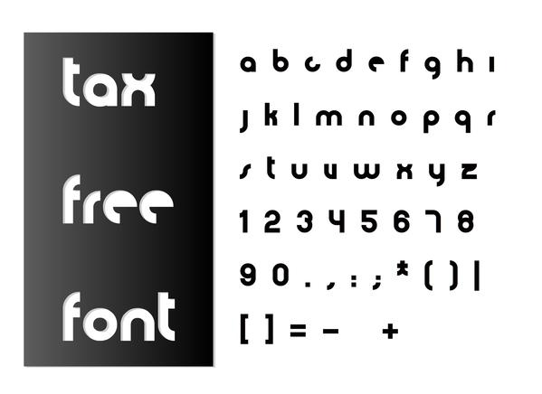 Tax Free (free font)