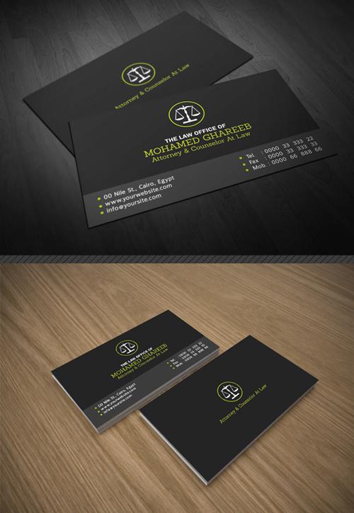 Creative Lawyer Business Card